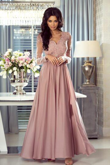 Sukienki wieczorowe Emo Luna elegancka sukienka wieczorowa Długa sukienka